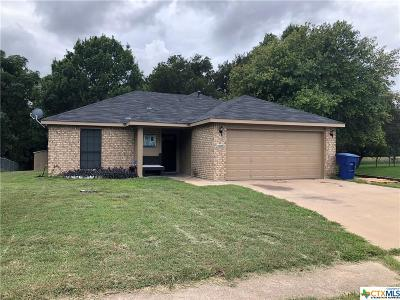 Copperas Cove Single Family Home For Sale: 2109 Mattie Drive