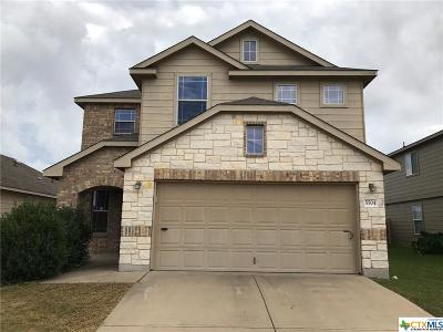 Killeen Single Family Home For Sale: 5504 Capricorn