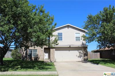 Killeen Single Family Home For Sale: 1703 Waterford Drive