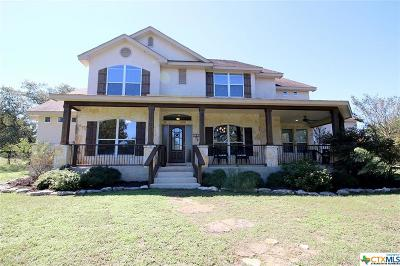 Canyon Lake Single Family Home For Sale: 126 Jackson Creek