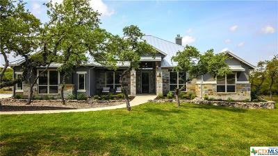New Braunfels Single Family Home For Sale: 1322 Vintage