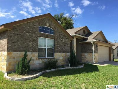 Copperas Cove Single Family Home For Sale: 1605 Indian Camp Trail
