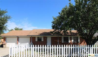 Killeen Single Family Home For Sale: 2412 Ridglea Court