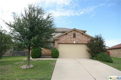 Killeen Single Family Home For Sale: 6703 Aquamarine Drive