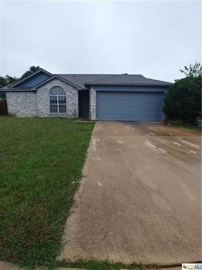 Killeen Single Family Home For Sale: 2505 Coach Drive