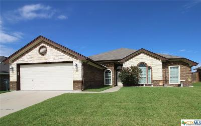 Killeen Single Family Home For Sale: 5621 Graphite Drive