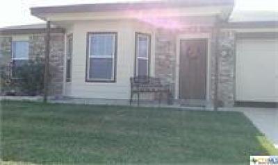 Killeen Single Family Home For Sale: 3612 John Haedge Drive