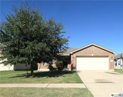 Killeen TX Single Family Home For Sale: $144,200