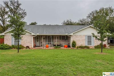 Salado Single Family Home For Sale: 1501 Guess Drive