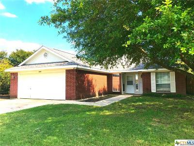 Killeen TX Single Family Home For Sale: $104,900