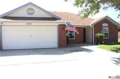 Killeen TX Single Family Home For Sale: $120,000