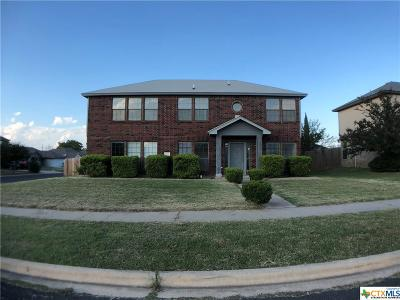 Killeen Single Family Home For Sale: 2907 Cactus