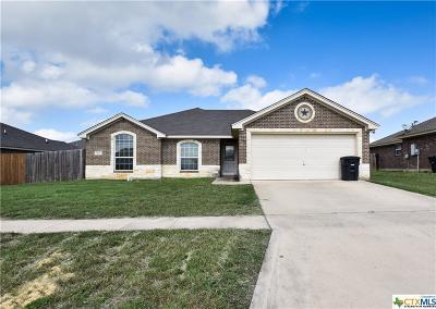 Killeen Single Family Home For Sale: 1301 Trailboss