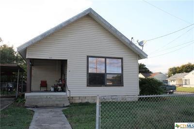 Gatesville Single Family Home For Sale: 213 N Lutterloh