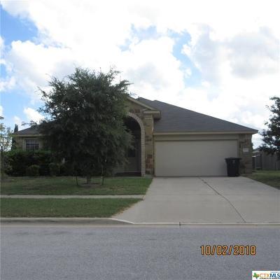 Killeen TX Single Family Home For Sale: $181,500