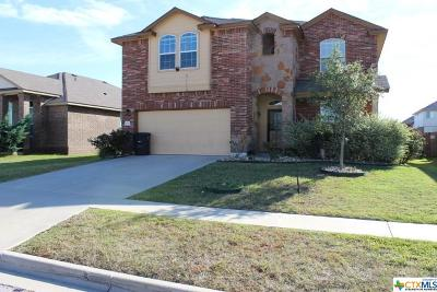 Killeen Single Family Home For Sale: 4904 Green Meadow Street