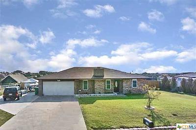 Killeen TX Single Family Home For Sale: $119,500