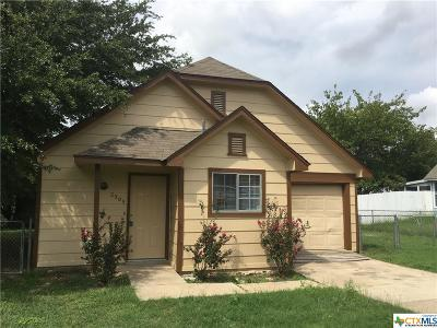 Killeen TX Single Family Home For Sale: $63,900