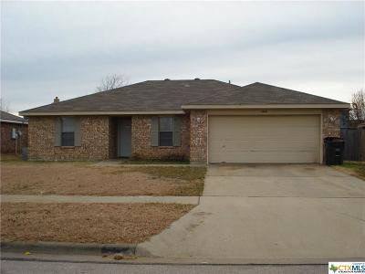 Killeen Single Family Home For Sale: 1804 Amethyst Drive