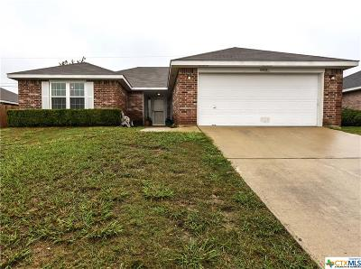 Killeen Single Family Home For Sale: 3505 Solomon Drive