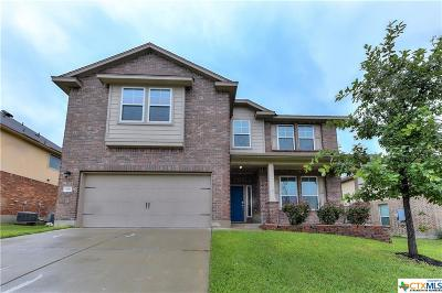 Killeen Single Family Home For Sale: 3107 Cricklewood