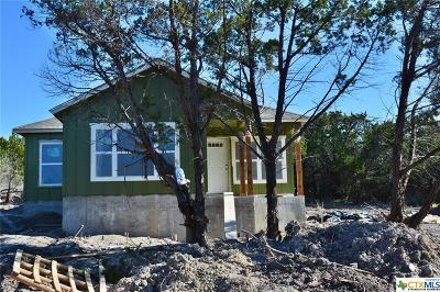 Canyon Lake TX Single Family Home For Sale: $166,900