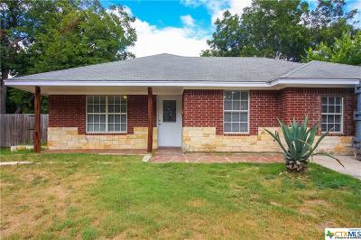 Temple TX Single Family Home For Sale: $125,000
