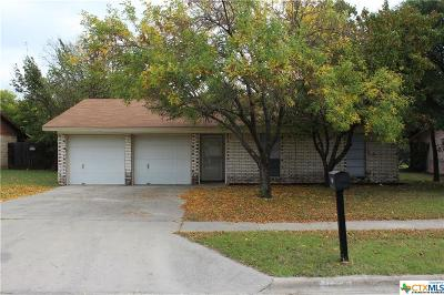 Killeen Single Family Home For Sale: 1015 Ronstan