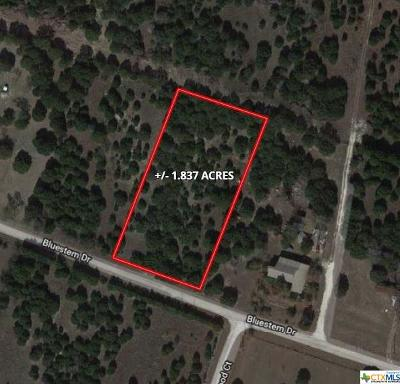 Copperas Cove Residential Lots & Land For Sale: Tbd Bluestem Dr