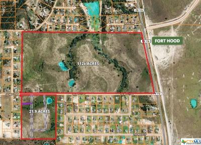 Copperas Cove Residential Lots & Land For Sale: Tbd Hempel