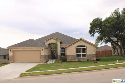 Copperas Cove Single Family Home For Sale: 1026 Republic Circle