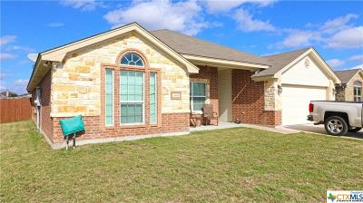 Copperas Cove Single Family Home For Sale: 3418 Dalton