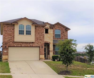 Copperas Cove Single Family Home For Sale: 1802 Terry