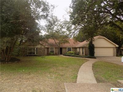 Harker Heights Single Family Home For Sale: 817 Trail Crest