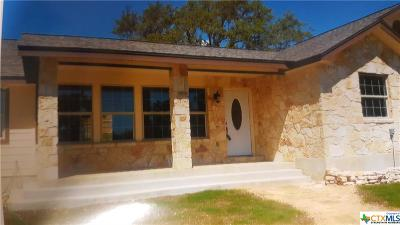 Canyon Lake TX Single Family Home For Sale: $247,500