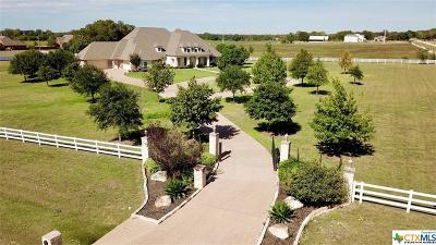 Temple Single Family Home For Sale: 2000 River Ranch Road
