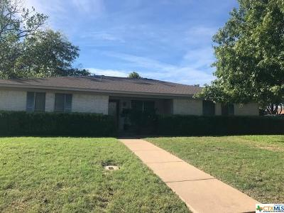 Temple TX Single Family Home For Sale: $149,950