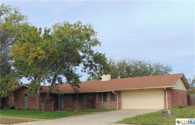 Killeen Single Family Home For Sale: 901 Turtle Bend