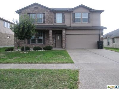 Killeen Single Family Home For Sale: 5009 Williamette Lane