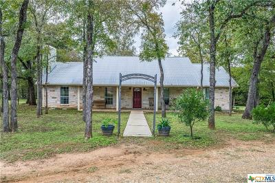 Bastrop Single Family Home For Sale: 1394 Lower Red Rock