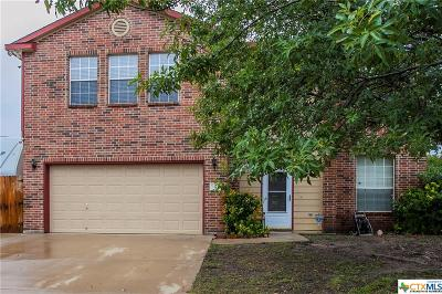Harker Heights Single Family Home For Sale: 2004 Rain Dance