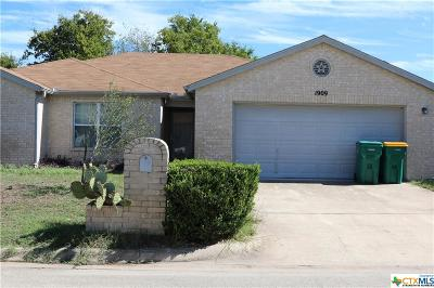 Belton Single Family Home For Sale: 1909 Liberty Hill