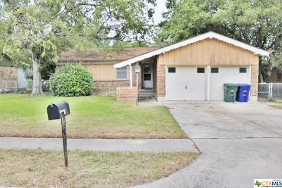 Copperas Cove Single Family Home For Sale: 504 Joe Morse Drive