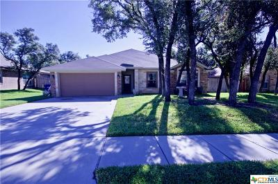 Copperas Cove, Kempner Single Family Home For Sale: 3425 Doss Street