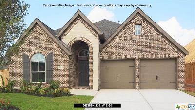 Seguin Single Family Home For Sale: 2989 Coral Way