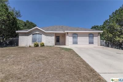 Harker Heights, Nolanville Single Family Home For Sale: 4013 Lakecliff Drive