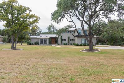 New Braunfels Single Family Home For Sale: 709 Oak Bluff