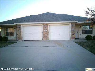 Killeen Multi Family Home For Sale: 1402 Cinch