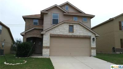 Killeen Single Family Home For Sale: 304 W Gemini