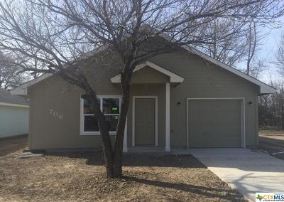 Killeen Single Family Home For Sale: 706 W Avenue I